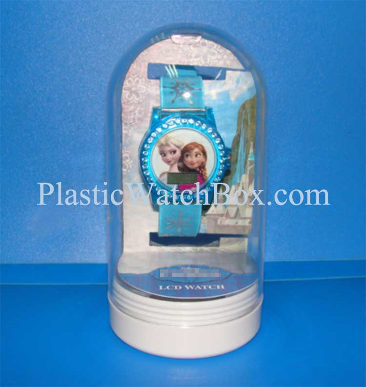 Wholesale High Quality Transparent Plastic Packaging Clear Plastic Watch Box 035